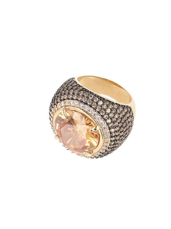TONNEL ROSE GOLD RING - HOUSE OF MAGUIE