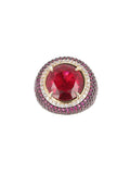 TONNEL FUCHSIA RING - HOUSE OF MAGUIE