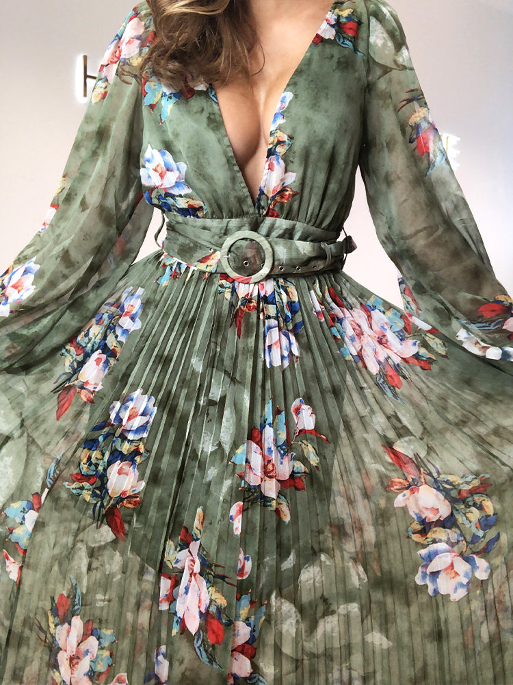 maxi dress, maxi dress uk, maxi dress asos, maxi dress Zara, evening dresses uk, event dresses, boho dress, green dress, green floral dress, maxi dress mango, dreamy dresses