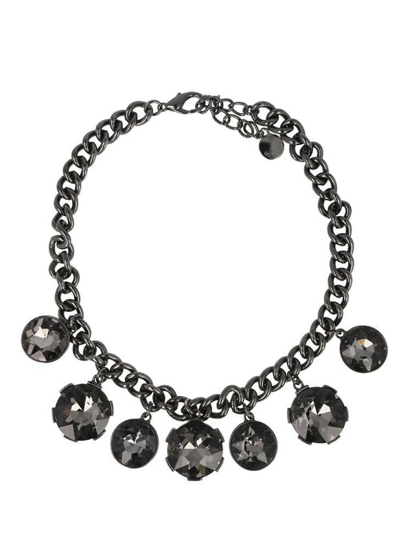 House of Maguie ACCESSORIES ONE SIZE / Black TURMALINA PRESTIGE HEAVY CHAIN NECKLACE