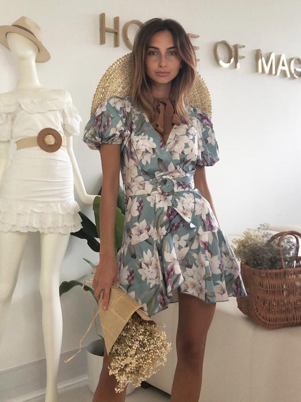 Wrap Dress, Boho Dress, Summer Cheap Dress, Puff Sleeve Dress, Zara Dress, House Of Cb, Celebrity Boutique, Floral Print Wrap Dress, Floral Print Dress, Boho Dress, Bohemian Chic Dress, Wedding Guest Dress, Satin Belted Dress, Best Summer Dress 2020, Best Bohemian Dresses 2020, For Love and Lemons, Revolve, Pretty Little Thing, Fashion Nova, Boho, Vintage Bohemian Dress, Australian Boho Dress
