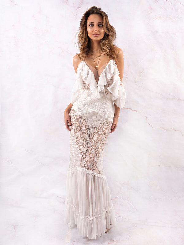 Celebrity Trendy Dress, Celebrity Inspired Dress, Celebrity Boutique Dress, Summer Occasion Dress, Party Dress White, Lace Dress White, Bohemian Style Maxi Dress, For Love And Lemons Dress, Unique Style Dress London, Kylie Jenner Dress, Boohoo Dress, Festival Dress, Zara Dress, House Of Cb White Dress, Bridal Dress, Bridesmaid Dress, Night Out Dress, Ibiza Style Dress, Dress Code London, White Party Dress, Vintage Bohemian Style Dress, Romantic Dress White Wedding Dress, White Lace Maxi Dress, Women's Dress