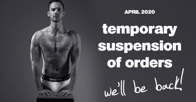 April 2020 Temporary Suspension Of New Orders