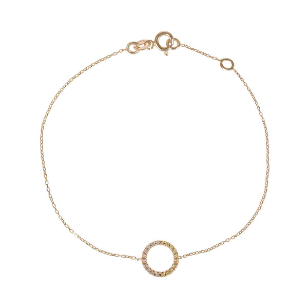 GFG Jewellery Bracelet Claire Bracelet - Diamonds, Champagne and White