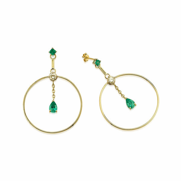 GFG Jewellery Earrings Artisia Circle Earrings