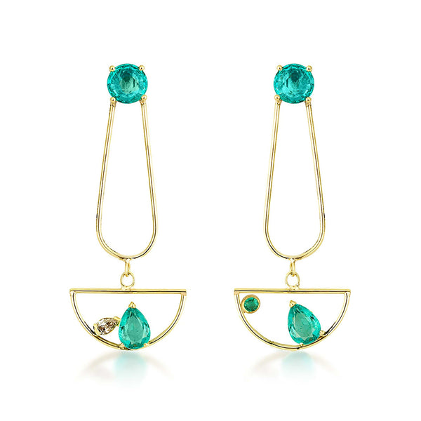 GFG Jewellery Earrings Artisia Gondola Earrings