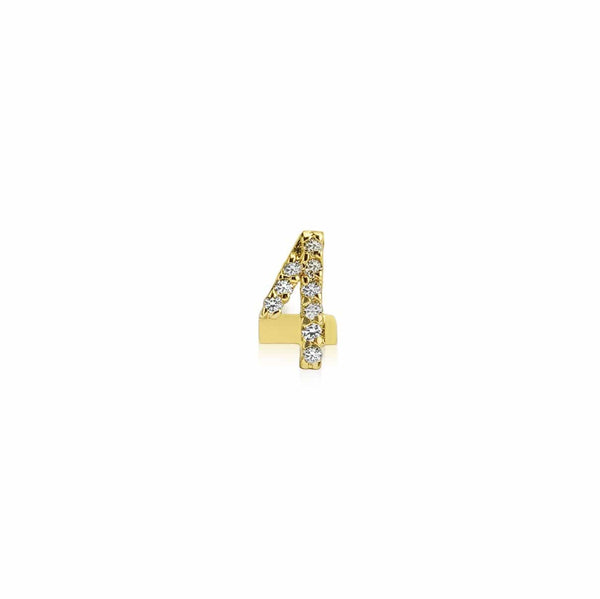 GFG Jewellery Earrings Numerology Earring 4