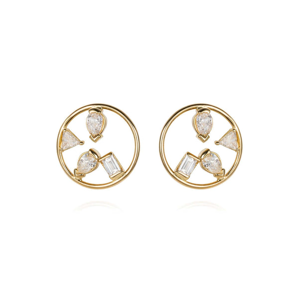 GFG Jewellery Earrings Project 2020 - Diamond Earrings