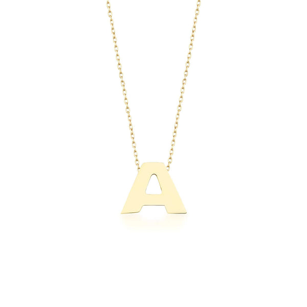 GFG Jewellery Necklace Alpha Charm Necklace - Letter A