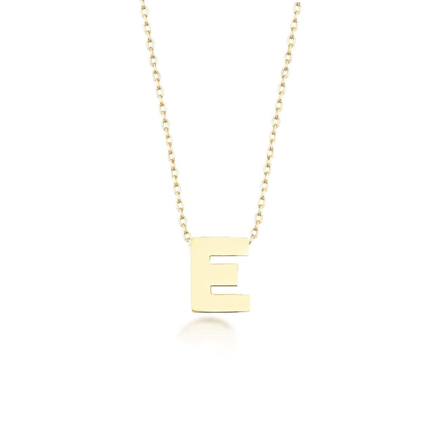 GFG Jewellery Necklace Alpha Charm Necklace - Letter E