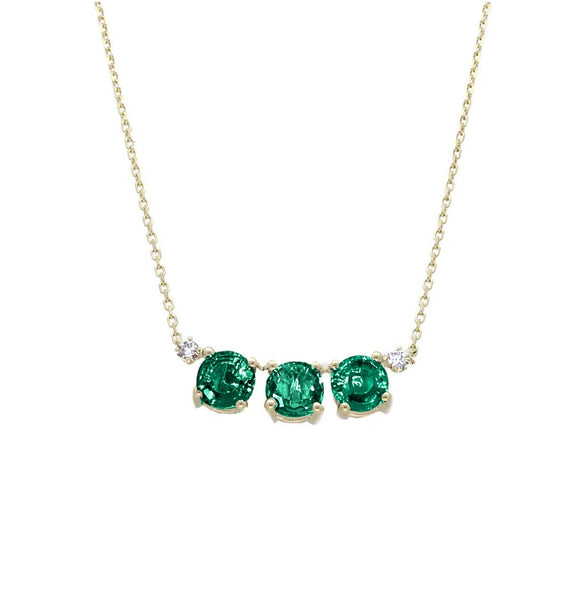 GFG Jewellery Necklace Artisia Emerald Necklace