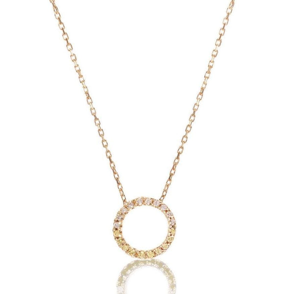 GFG Jewellery Necklace Claire Necklace Diamond (Champagne and White)