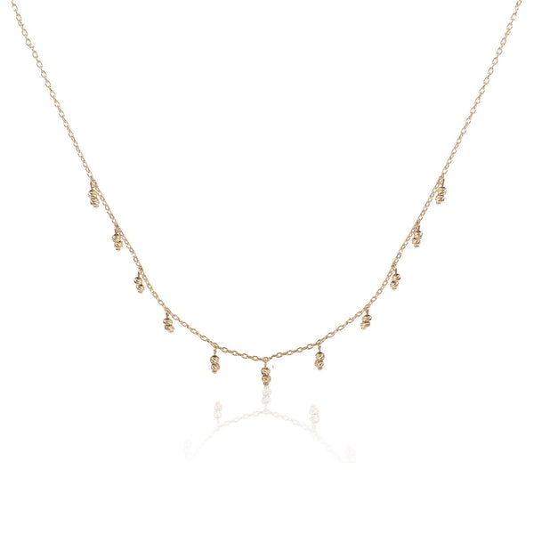 GFG Jewellery Necklace Ellie Drop Necklace - Gold Collection