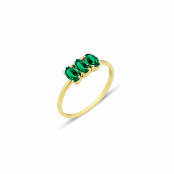 GFG Jewellery Rings Dumom Emerald Ring