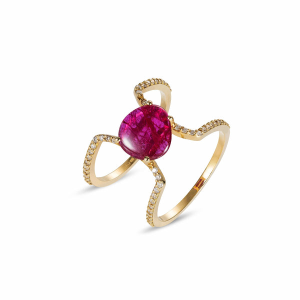 GFG Jewellery Rings Seraphina Sepirah Ruby Ring