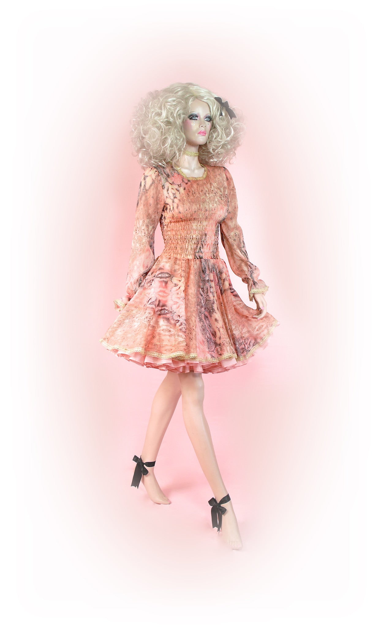 Peach<br>Powder-puff Chiffon