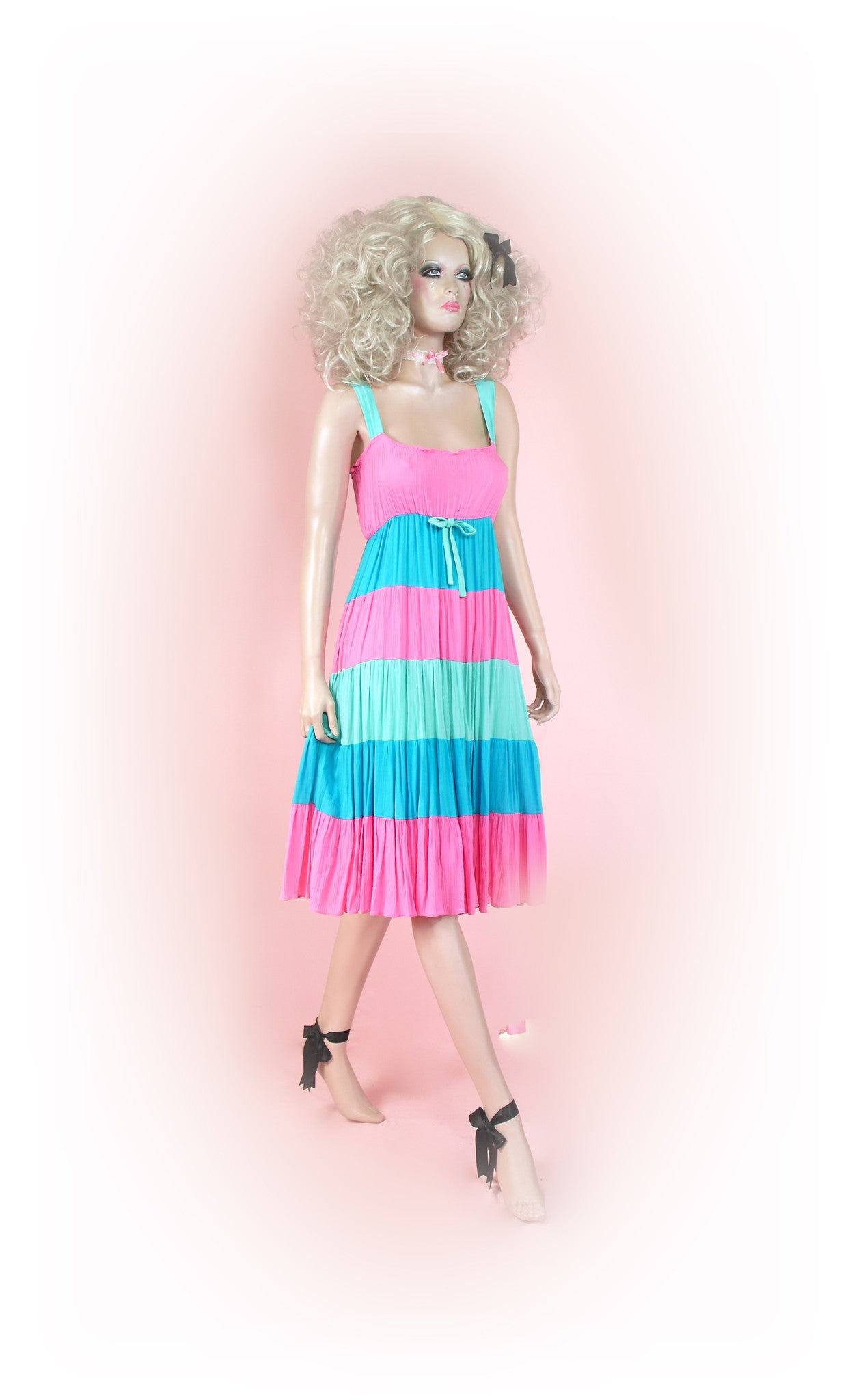 Pinks and Blues<br>Candy Stripe