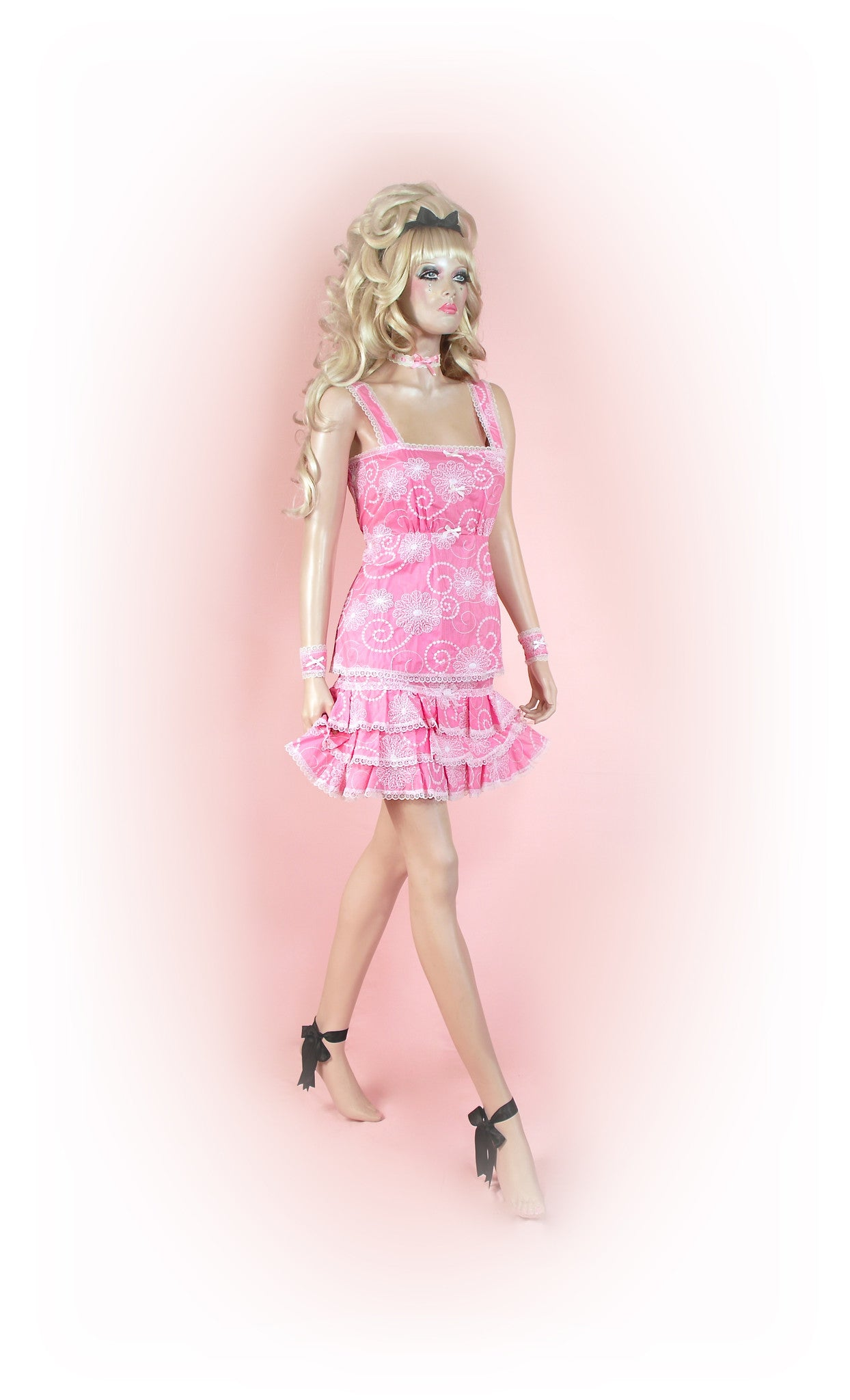 Pink<br>Dream Anglaise Frilly Mini