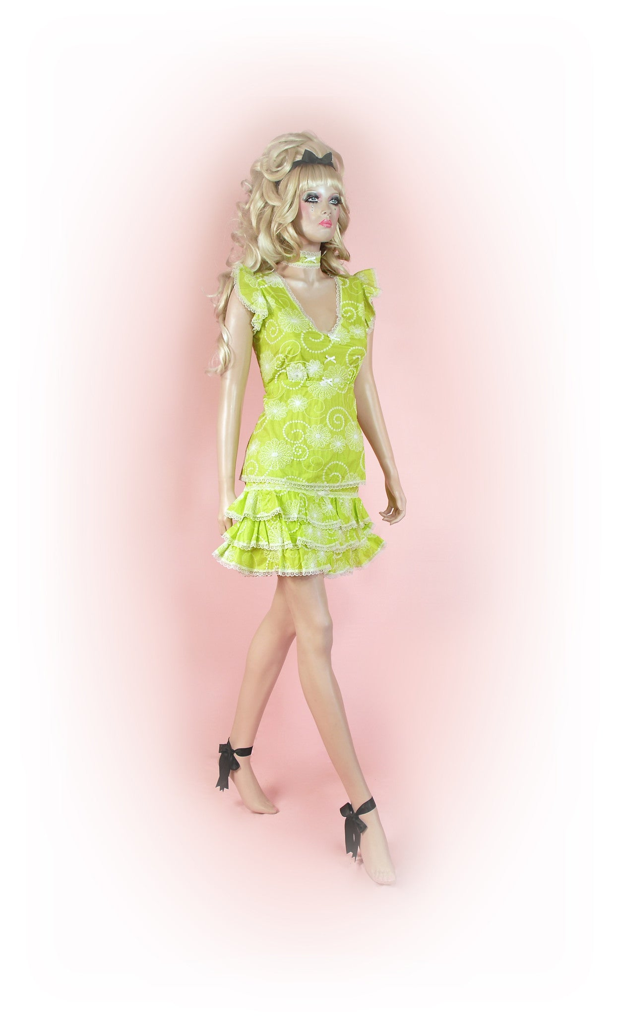 Lime<br>Dream Anglaise Sleeve