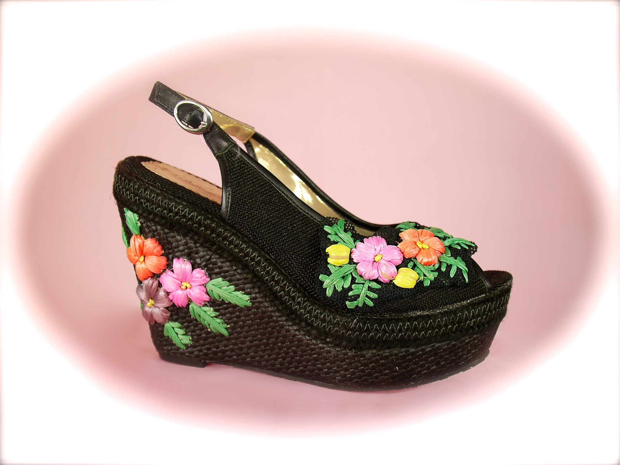 Irregular Choice/Poetic Licence<br>Petal Pusher Black