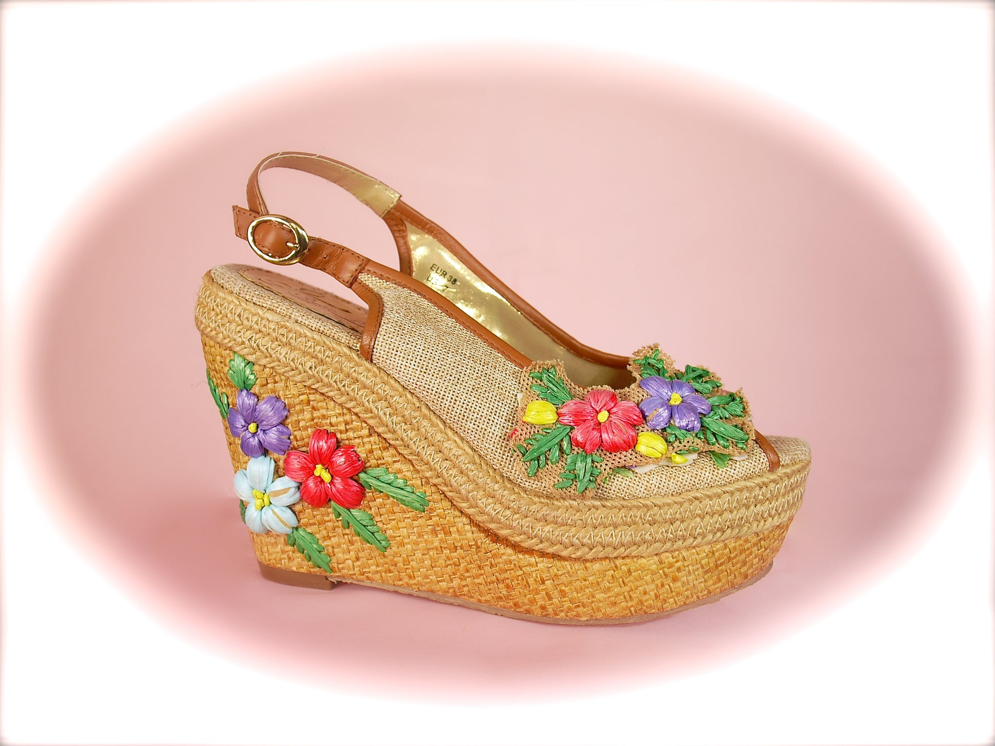 Irregular Choice/Poetic Licence<br>Petal Pusher Natural