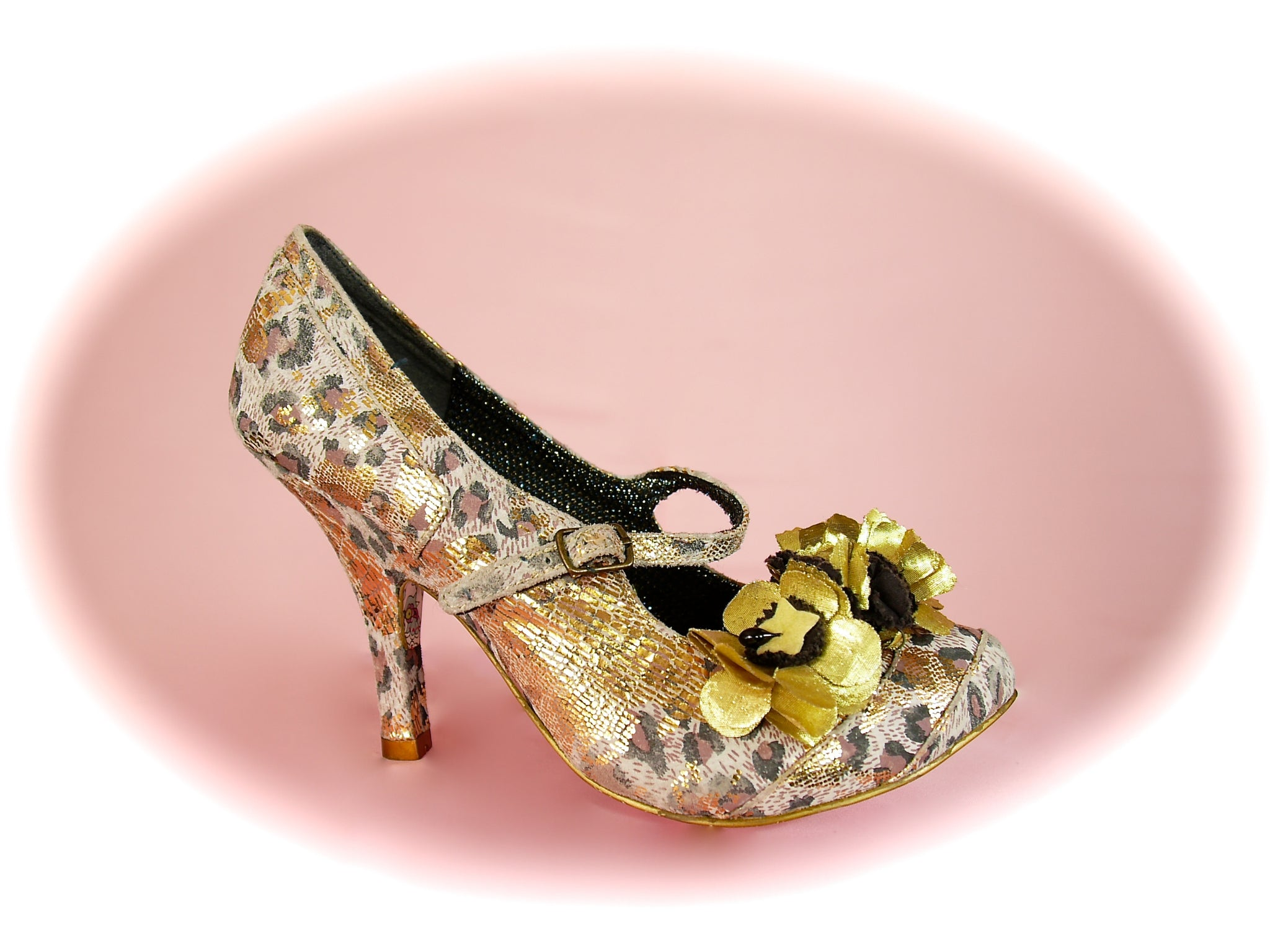Irregular Choice<br>Cortesan Bar Leopard