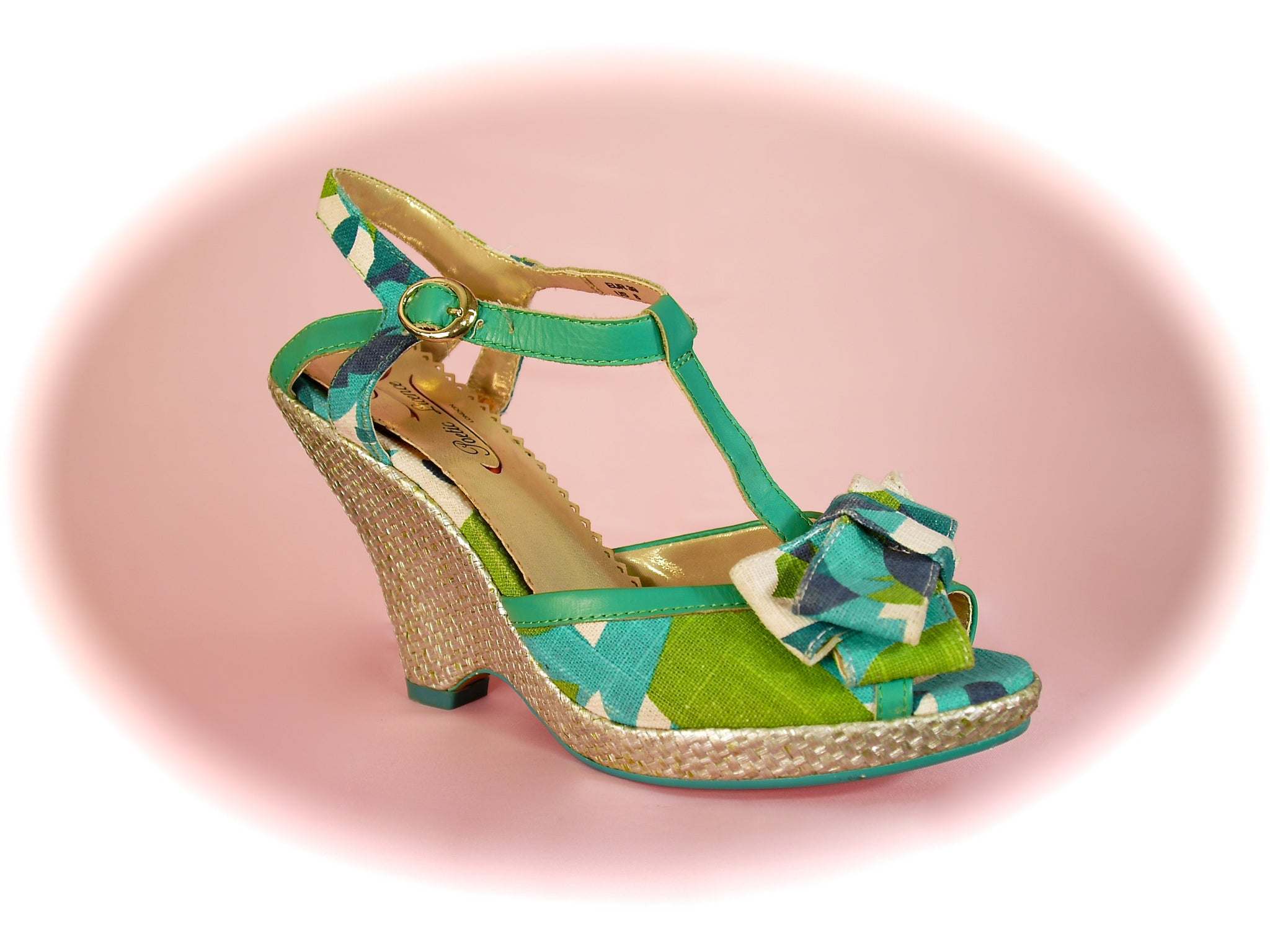 Irregular Choice/Poetic Licence<br>Behave Yourself Green