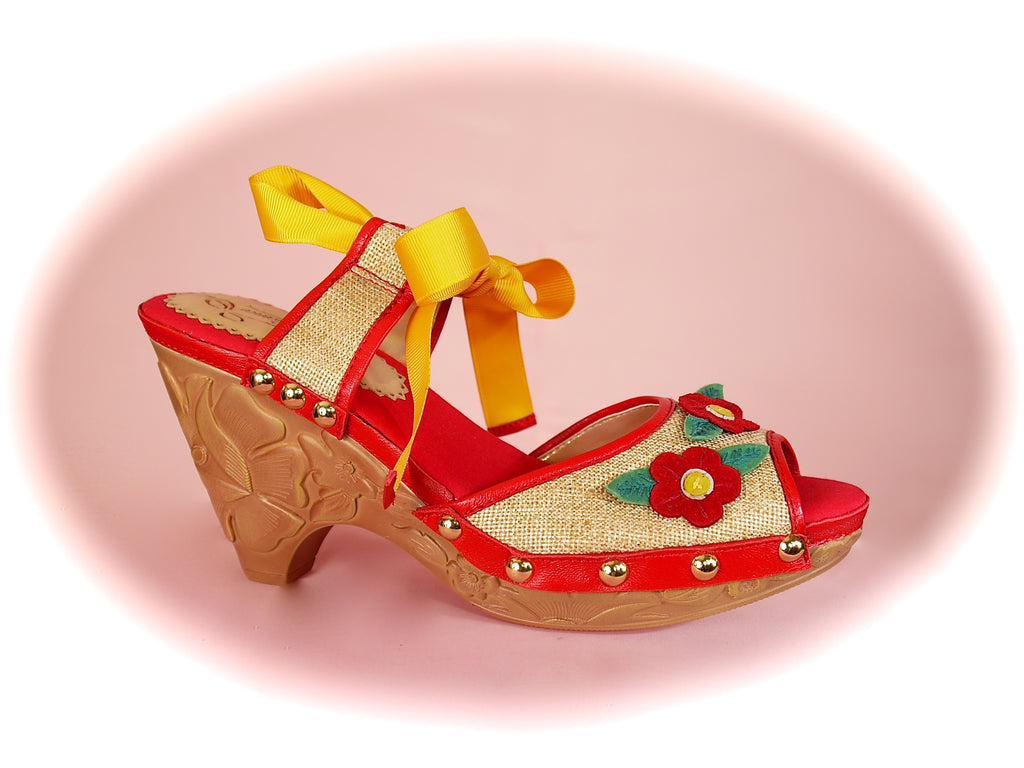 Irregular Choice/Poetic Licence<br>Care To Know Natural/Red