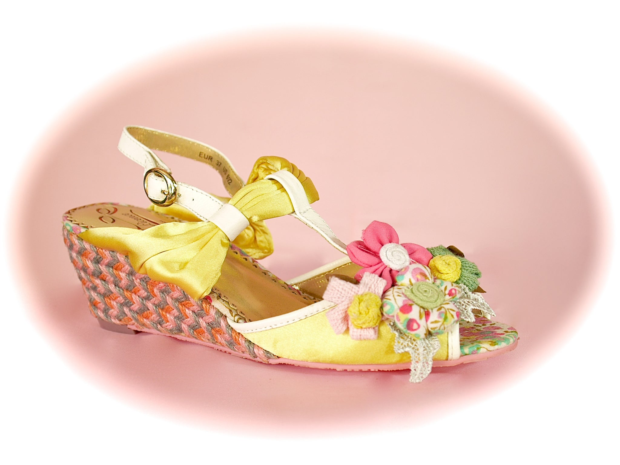 Irregular Choice/Poetic Licence<br>Hippy Goddess Yellow