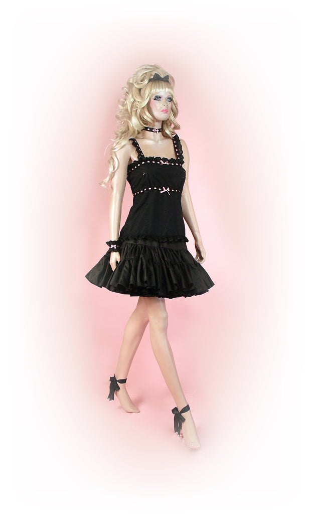 Black<br>Romantic Anglaise Strap