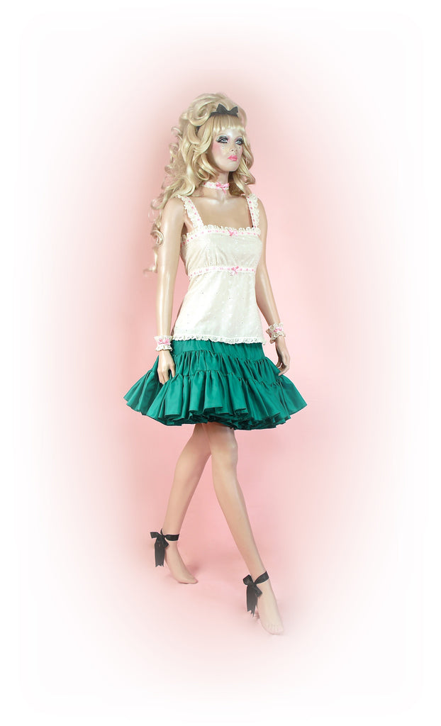 Gorgeous Green<br>Tutu Mini