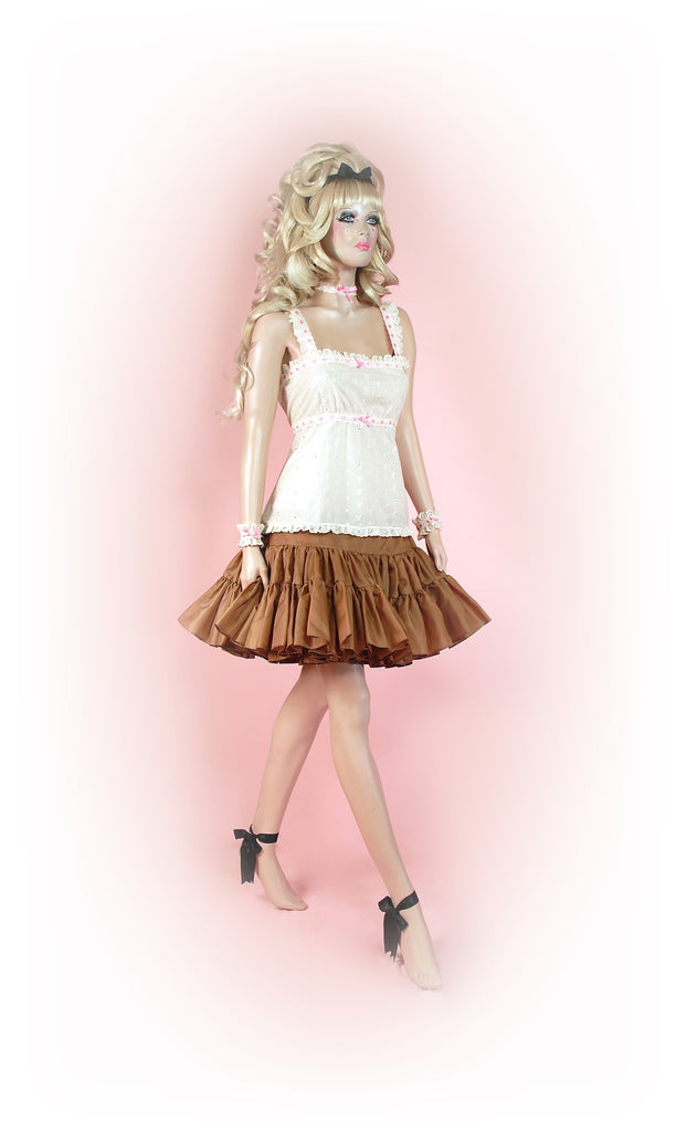 Beautiful Beige<br>Tutu Mini