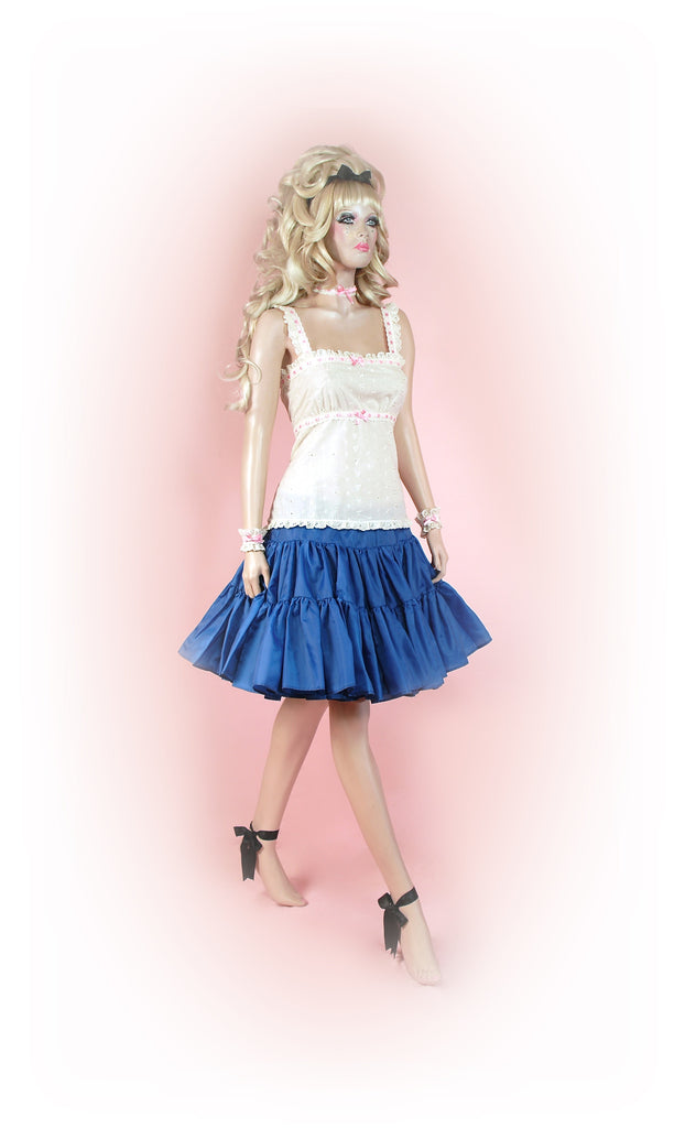 Blooming Blue<br>Tutu Knee