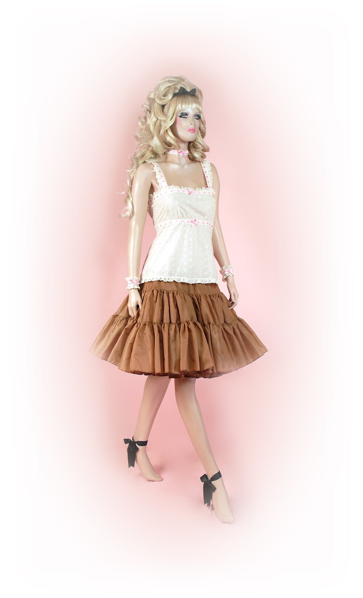 Beautiful Beige<br>Tutu Knee