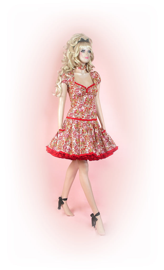Red<br>Dainty Floral