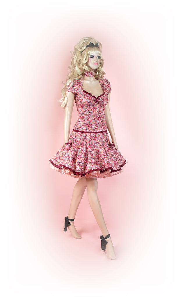 Pink<br>Posy Floral