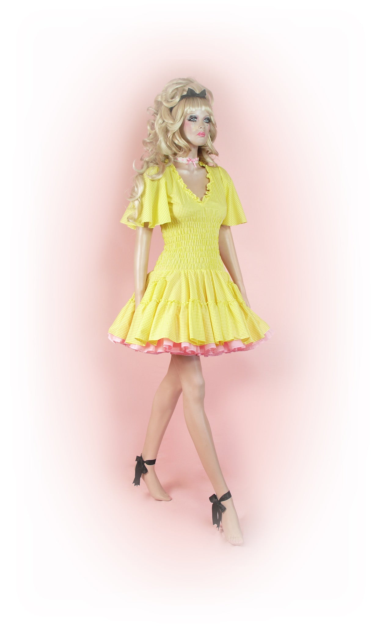 Yellow<br>Picnic Gingham