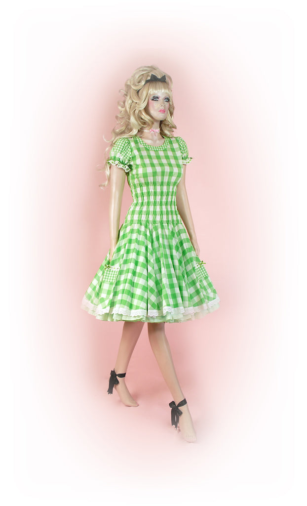 Green<br>Picinc Gingham