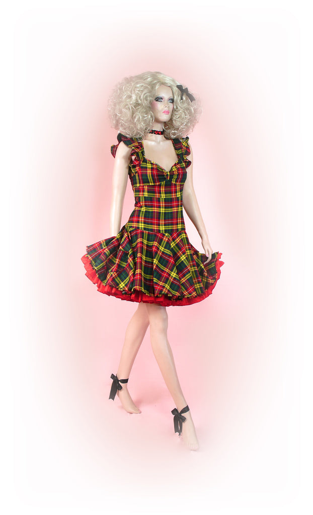 Yellow<br>Tarty Tartan