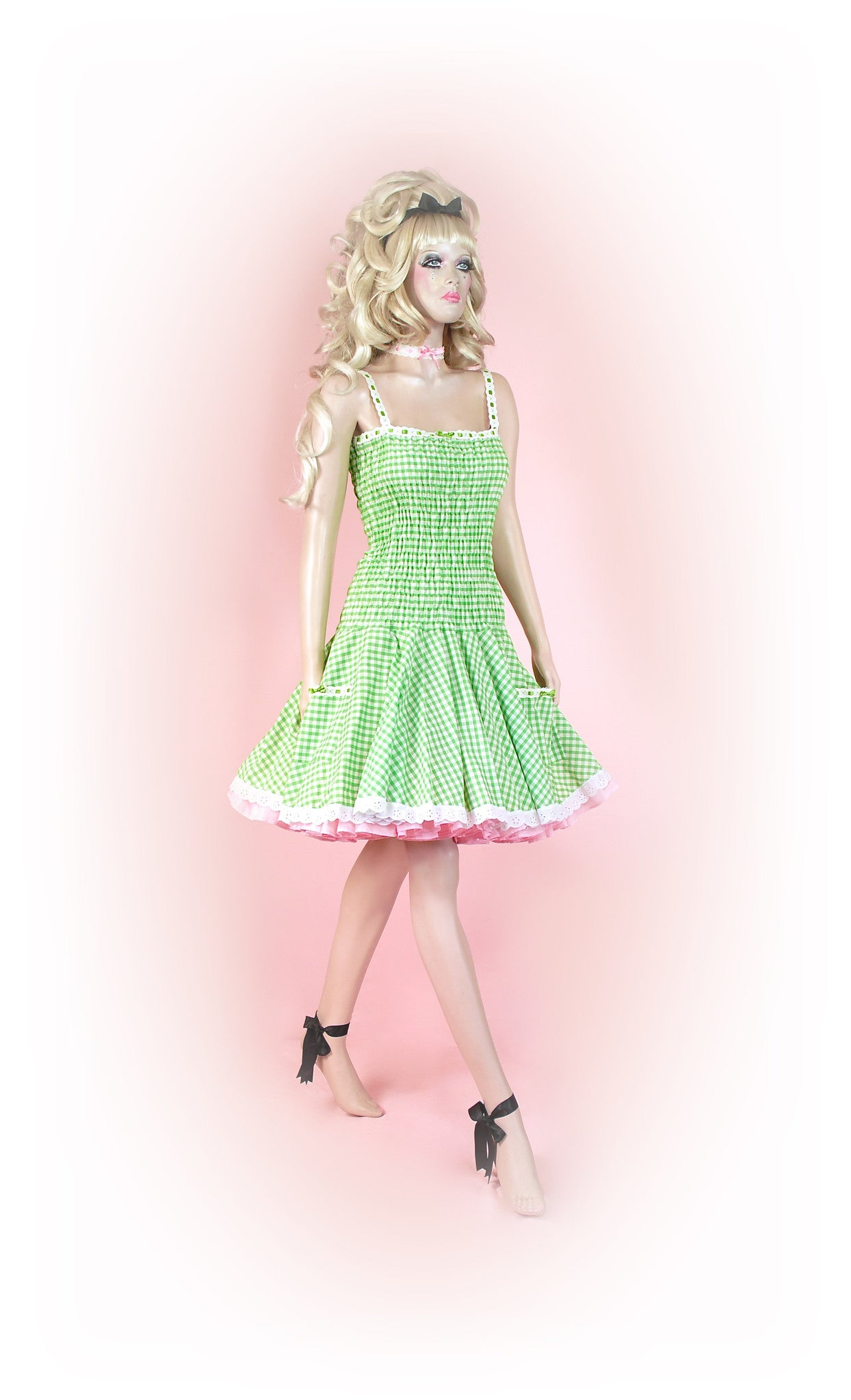 Green<br>Picnic Gingham