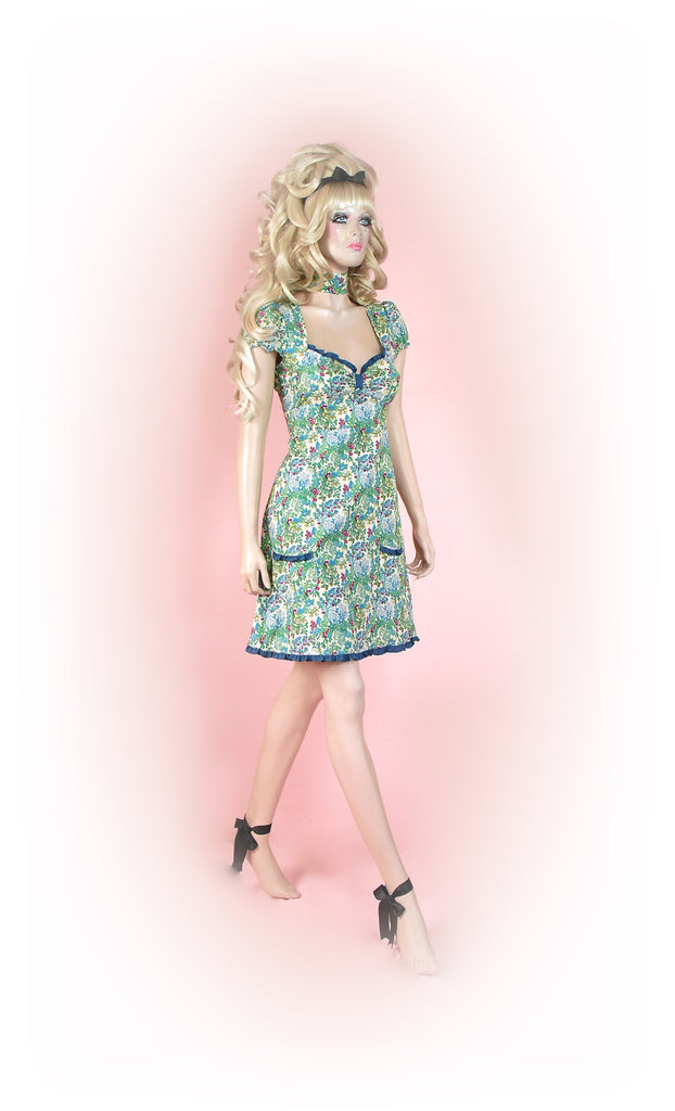 Green<br>Dainty Floral