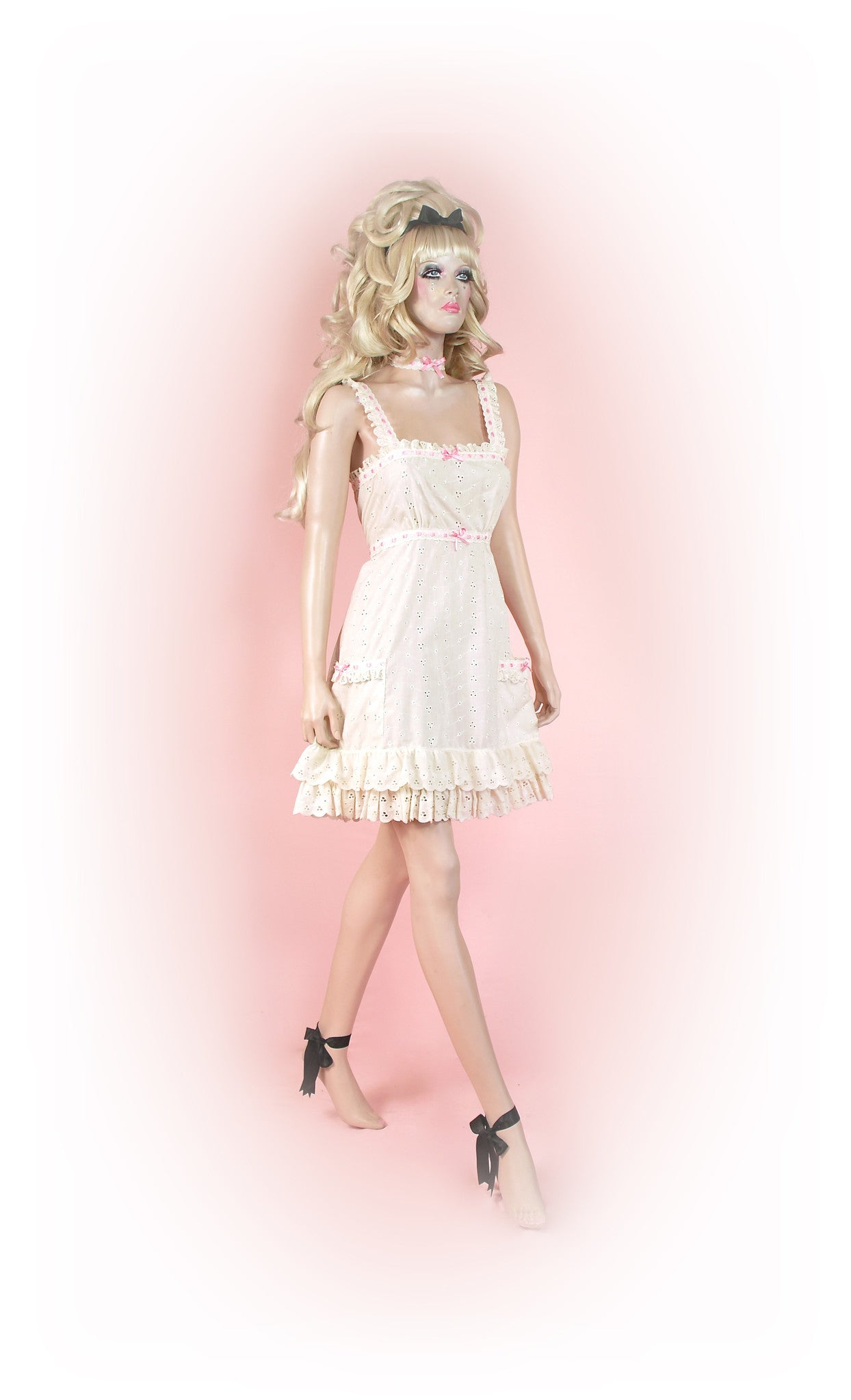 Cream/Pink<br>Romantic Anglaise