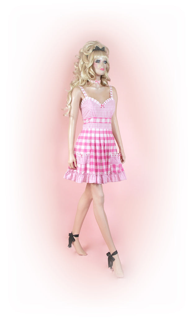 Pink<br>Picnic Gingham