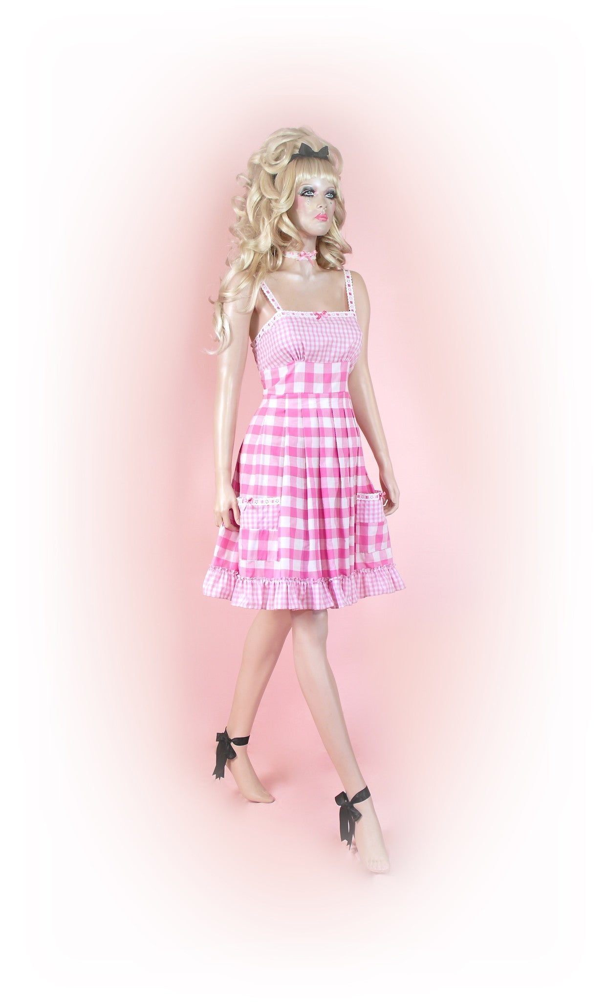 Pink<br>Picnic Gingham Long
