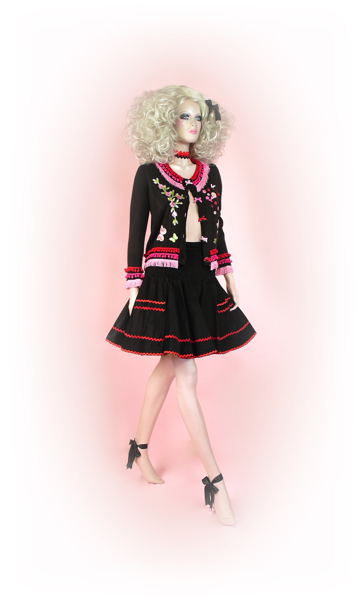 Black/Red<br>Fairytale Sparkle
