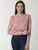 De Moza Ladies Dusty Pink full sleeve Sweat Shirt