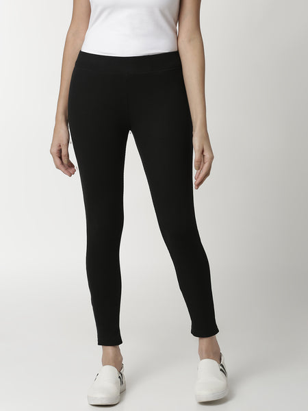 De Moza Ladies Black Leggings - De Moza
