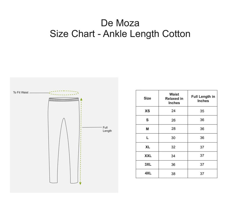 De Moza Ladies Ankle Length Leggings Navy Blue - De Moza