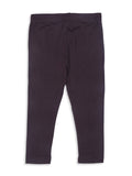 Girls Viscose Ankle Length Dark Grey Leggings - De Moza