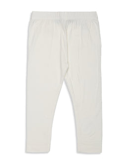 Kids - Girls Ankle Length Leggings Offwhite